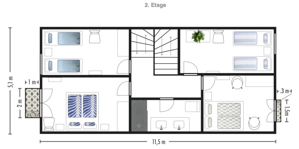 Grundriss_2. Obergeschoss